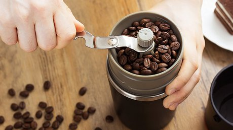 Manual Coffee Grinder for French Press
