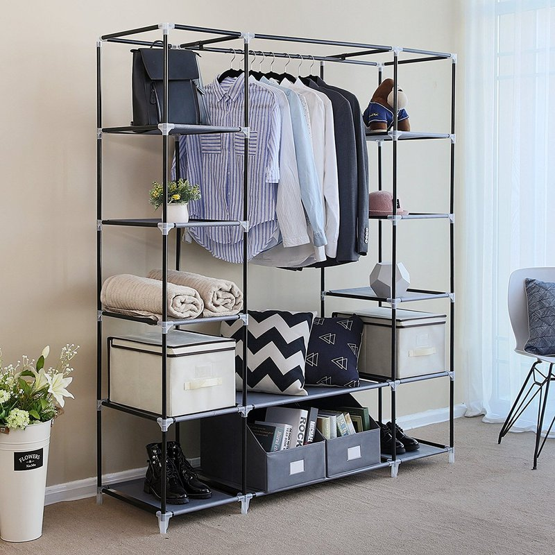 Portable Closet Ideas for Clothes