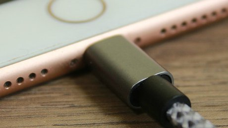 Lightning Cable for charging iOS devices