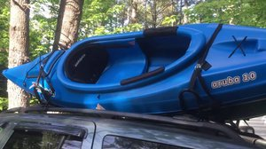 Car top kayak carier rack