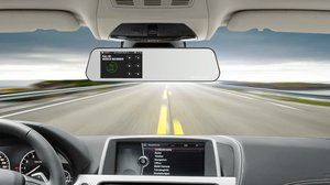 rear view mirror cameras (dash cams)