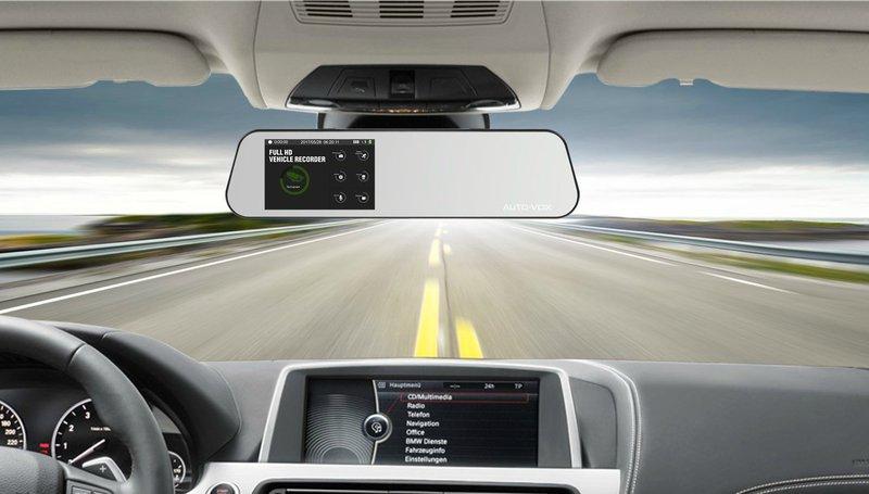 rear view mirror cameras (dash cams)