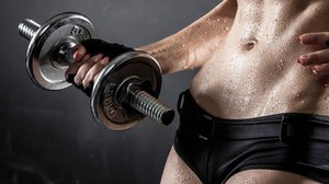 Adjustable Dumbbells for Exercise at Home