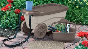 Garden Stools On Wheels