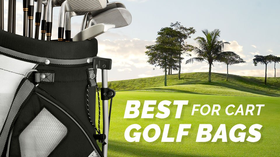 Golf bags for cart
