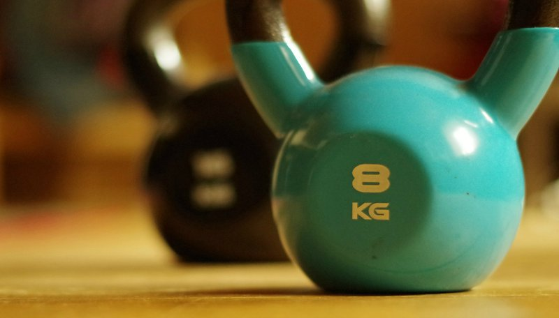 Home Gym Kettlebell Workout