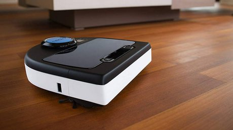 Robot vacuum cleaner for dog hair