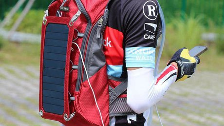 Solar Backpack chargers